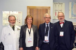 participantes I congreso de Medicina Hiperbárica