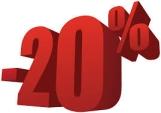 20 por ciento descuento dia de internet